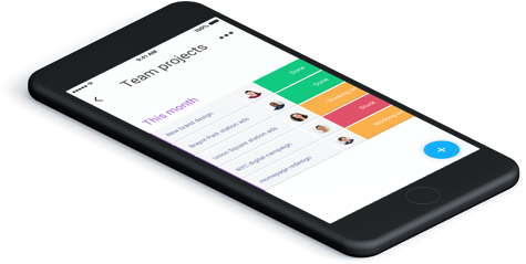 Application mobile gestion projet